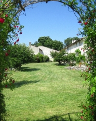Garden View and eco-tourism in the Poitou Charentes, France
