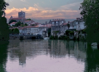 river charente near our french holiday gites cottage with swimming pool