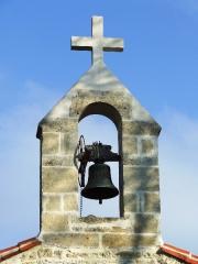 Crezieres chapel bell Les Hiboux holiday farmhouse cottage & gites, Poitou Charentes